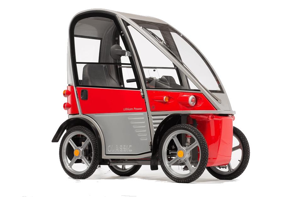 Kyburz Plus - Elektromobil mit Heizung. Unterwegs bei jedem Wetter.