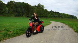 Kyburz DX2 Elektroscooter