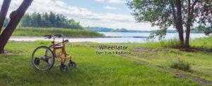 Wheellator Rollator Rollstuhl