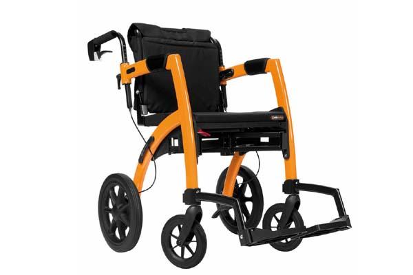 Rollz Motion als Schiebe-Rollstuhl