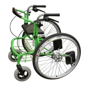 Wheellator mit stabilem Rahmen