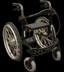Wheellator schwarz